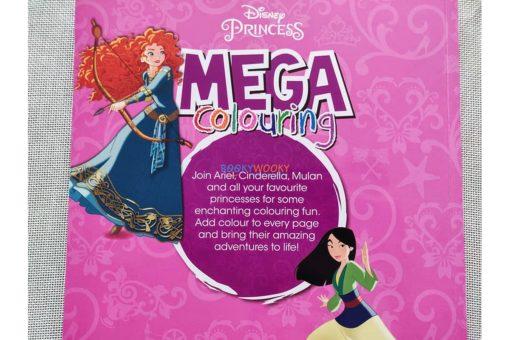 Mega Colouring Disney Princess (3)