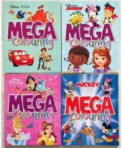 Mega Colouring Disney Princess (4)