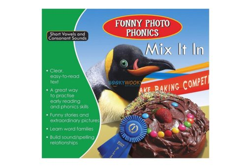 Mix It In- Funny Photo Phonics 9789350493250 cover