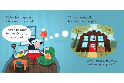 Mole in a Hole- Usborne Phonics Readers 1
