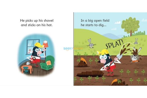 Mole in a Hole- Usborne Phonics Readers 2