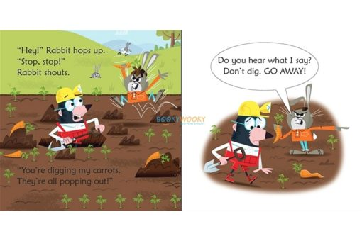 Mole in a Hole- Usborne Phonics Readers 3