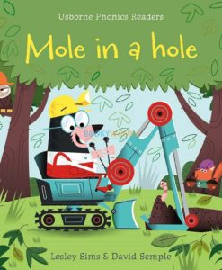 Mole in a Hole- Usborne Phonics Readers 9781409580423 cover