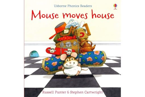 Mouse Moves House- Usborne Phonics Readers 9780746077252 cover