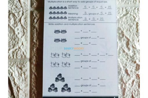 Multiplication Facts A Little Get Ready {School Zone} 1