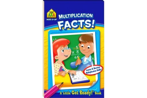 Multiplication Facts A Little Get Ready {School Zone} 9781743089392 cover