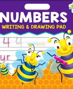 Numbers Writing & Drawing Pad {School Zone} 9781488913020 cover