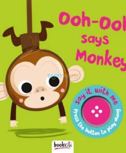 Ooh Ooh Says Monkey Boardbook with Sound 9781787724105 (1)