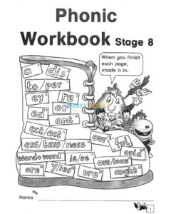 Phonic Workbook (Stage 1 To 8)