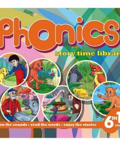 Phonics Story Time Library (6 in 1) (Orange) 9789350493151 (1)