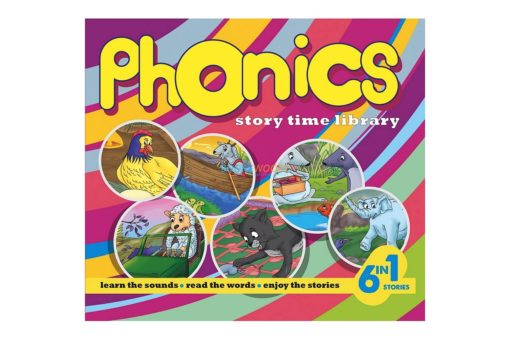 Phonics Story Time Library (6 in 1) (Yellow) 9789350493144 (1)