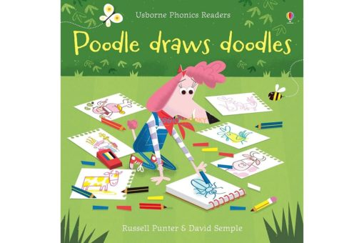 Poodle Draws Doodles- Phonics Readers 9781474946599 cover new