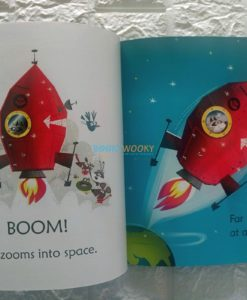 Raccoon on the Moon- Usborne Phonics Readers (1)