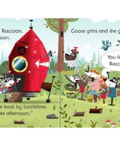 Raccoon on the Moon- Usborne Phonics Readers 1