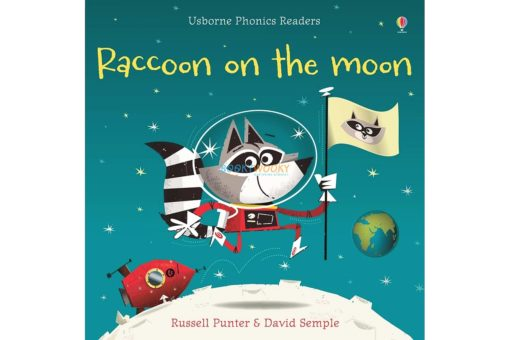 Raccoon on the Moon- Usborne Phonics Readers 9781409580409 cover