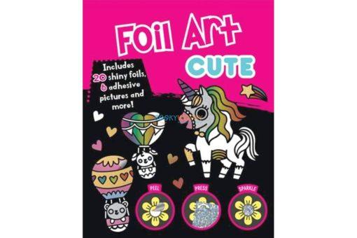 Rainbow Fun Foil Art Cute Pack 9781787725454 (1)