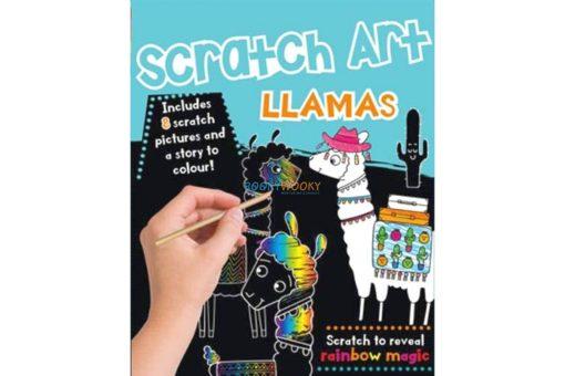 Rainbow Fun Scratch Art Llamas Pack 9781787725447 (1)