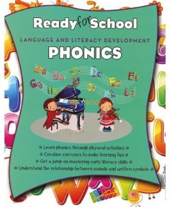 Ready for School Phonics 9781474864558 cover