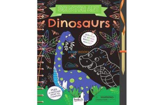 Scratch Art Dinosaur World 9781787720800 cover