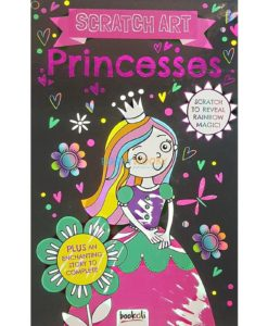 Scratch Art Princesses 9781787723351 cover