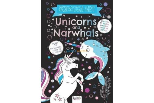 Scratch Art Unicorns and Narwhals 9781787722200 cover