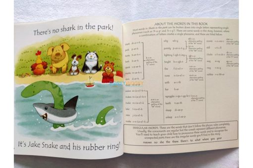 Shark in the Park- Usborne Phonics Readers 3
