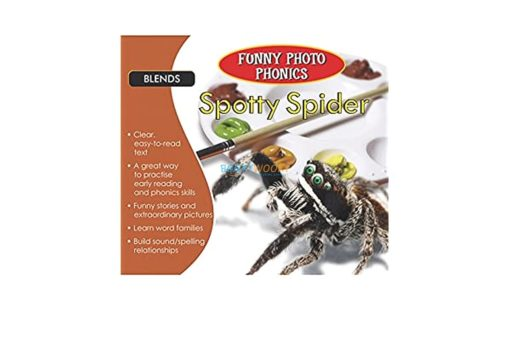 Spotty Spider- Funny Photo Phonics 9789350493359 cover