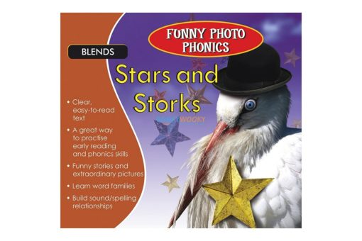 Stars and Storks- Funny Photo Phonics 9789350493366 cover