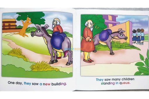 Story Time Library Phonics Mule Goes to School (2)