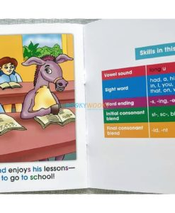 Story Time Library Phonics Mule Goes to School (3)