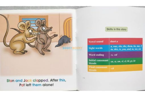 Story Time Library Phonics Pat and the Rats (3)