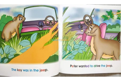 Story Time Library Phonics Peter Steals a Jeep (2)