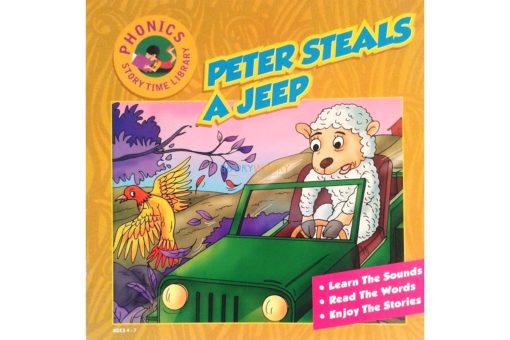 Story Time Library Phonics Peter Steals a Jeep 9788179632321 (1)