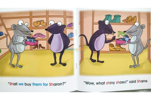 Story Time Library Phonics Shoes for Sharon (2)