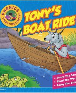 Story Time Library Phonics Tony's Boat Ride 9788179632352 (1)