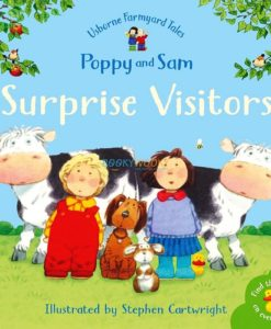 Surprise Visitors Farmyard Tales Stories Mini Editions 9780746063231 cover