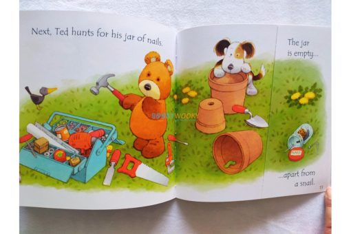 Ted's Shed- Usborne Phonics Readers (3)