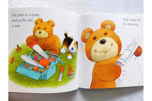 Ted's Shed- Usborne Phonics Readers (4)