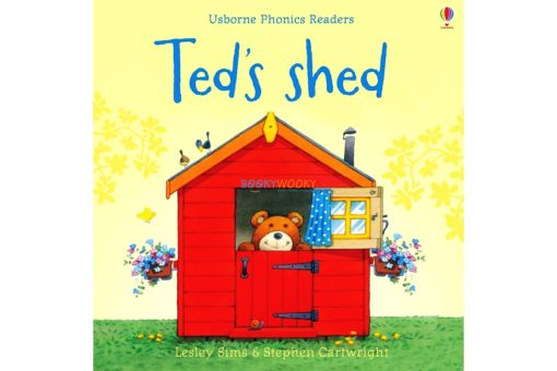 Ted's Shed- Usborne Phonics Readers 9780746077276 cover