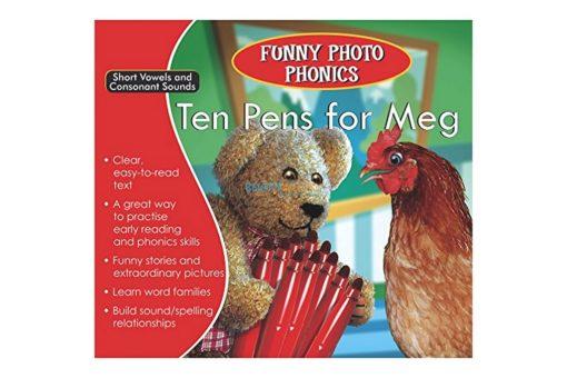 Ten Pens for Meg- Funny Photo Phonics 9789350493199 cover