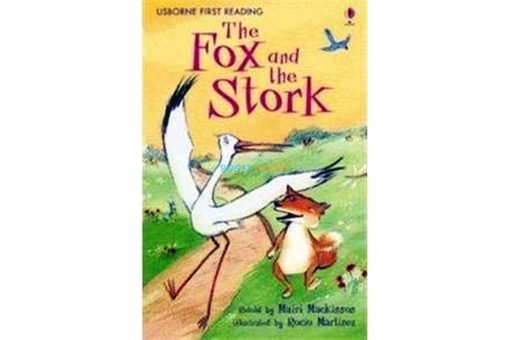 The Fox and the Stork cover