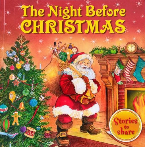 The Night Before Christmas- Christmas Paperback Storybooks 3 Titles 9781781970850 cover1