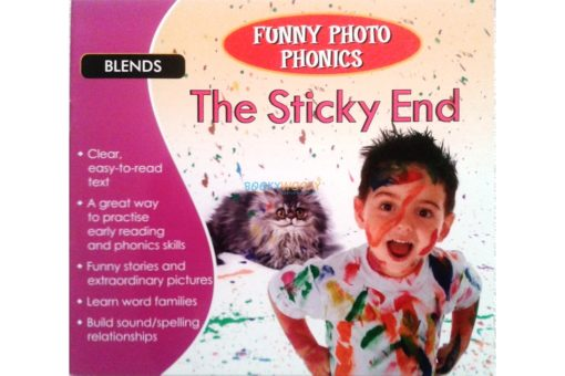 The Sticky End- Funny Photo Phonics 9789350493380 cover