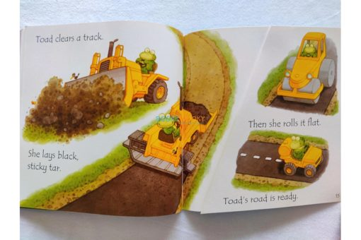 Toad Make A Road- Usborne Phonics Readers (3)