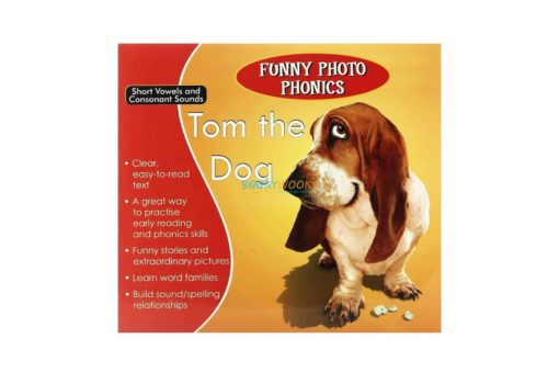 Tom the Dog- Funny Photo Phonics 9789350493182 cover