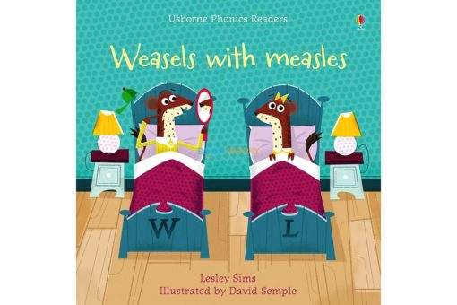 Weasels with Measles- Phonics Readers 9781474946605 cover