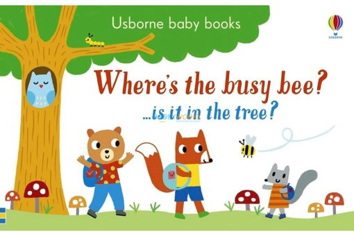 Where's the Busy Bee 9781474953726 cover