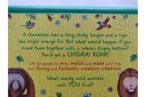 Wild Animals - A Mix and Match Book (7)
