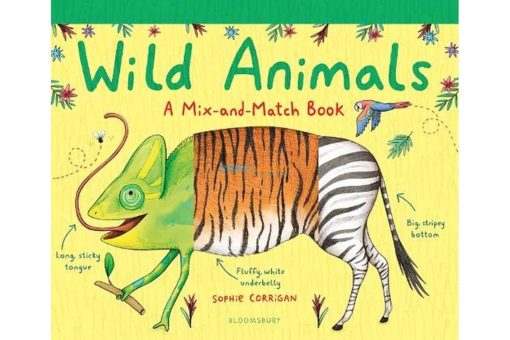 Wild Animals - A Mix and Match Book 9781408894101 (1)