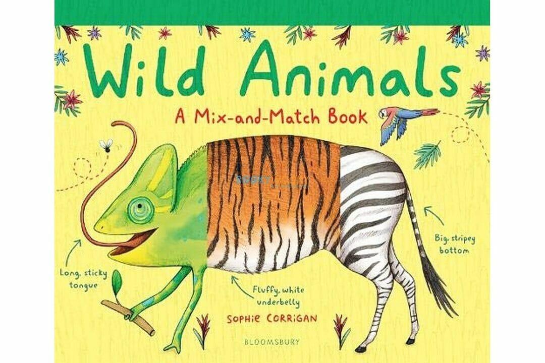 Wild Animals - A Mix and Match Book 9781408894101 (1)